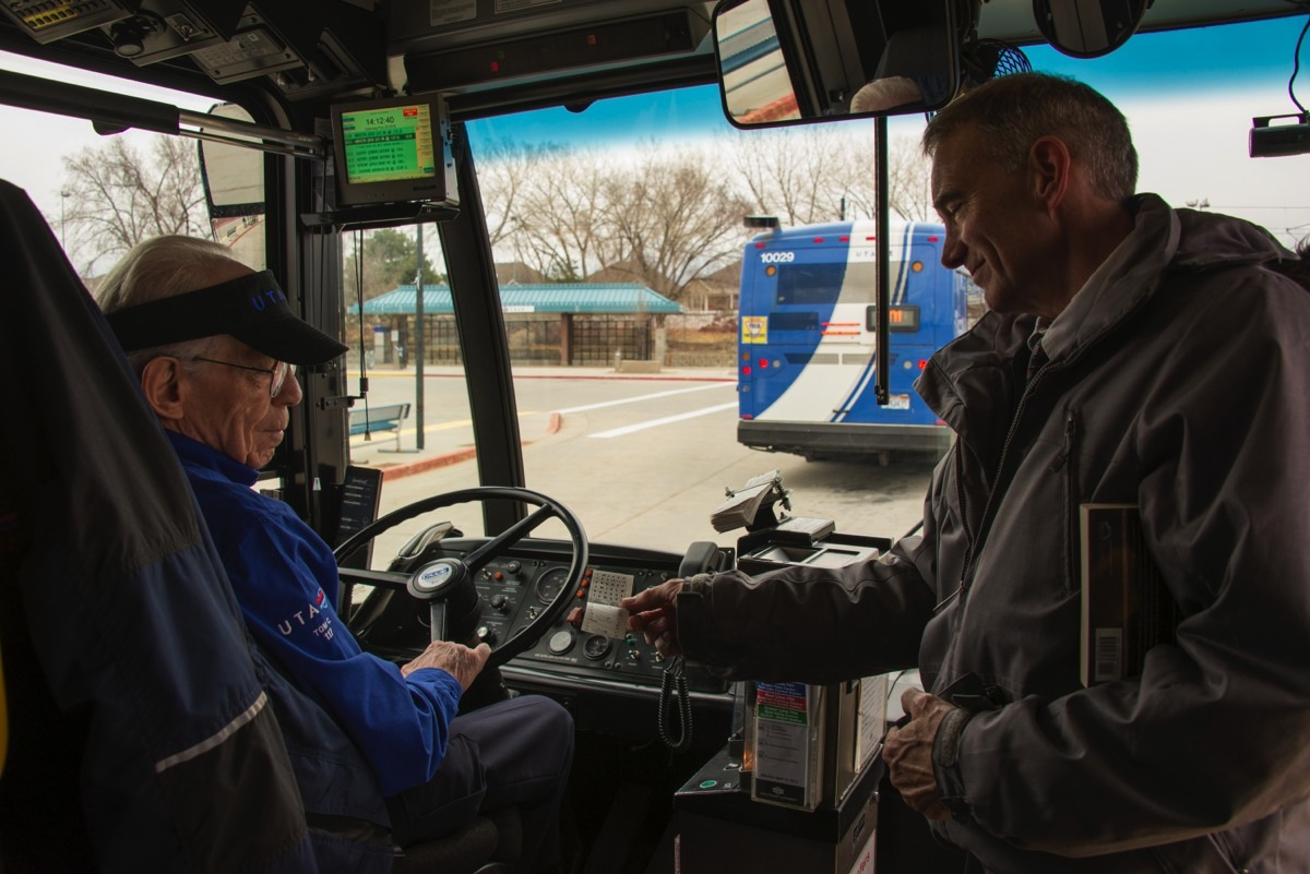 uta s longest serving employee in those early days conway said he and other extra board operators were asked to distribute fliers encouraging people to support their cities in joining a