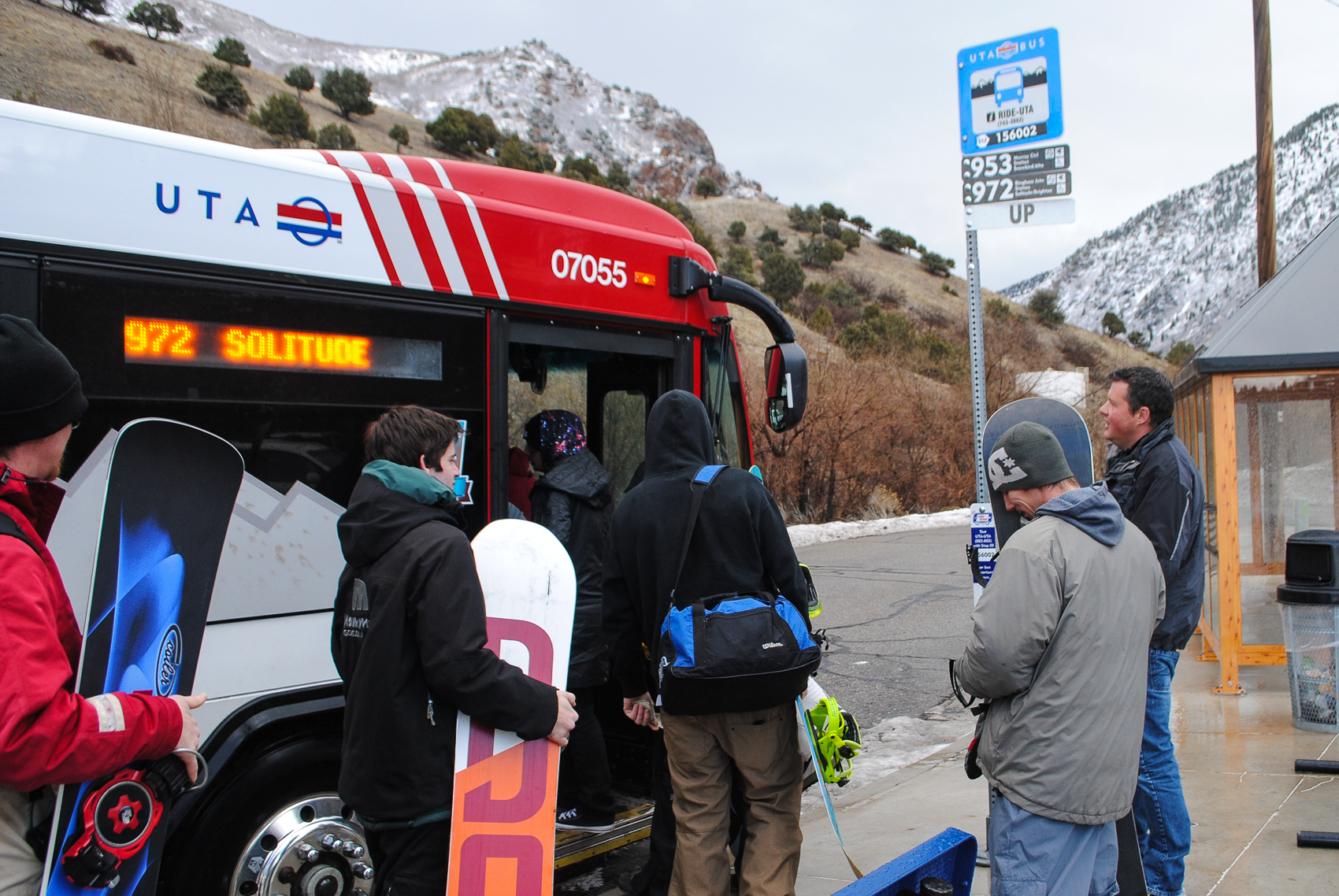 Let UTA be Your Ride to the Slopes