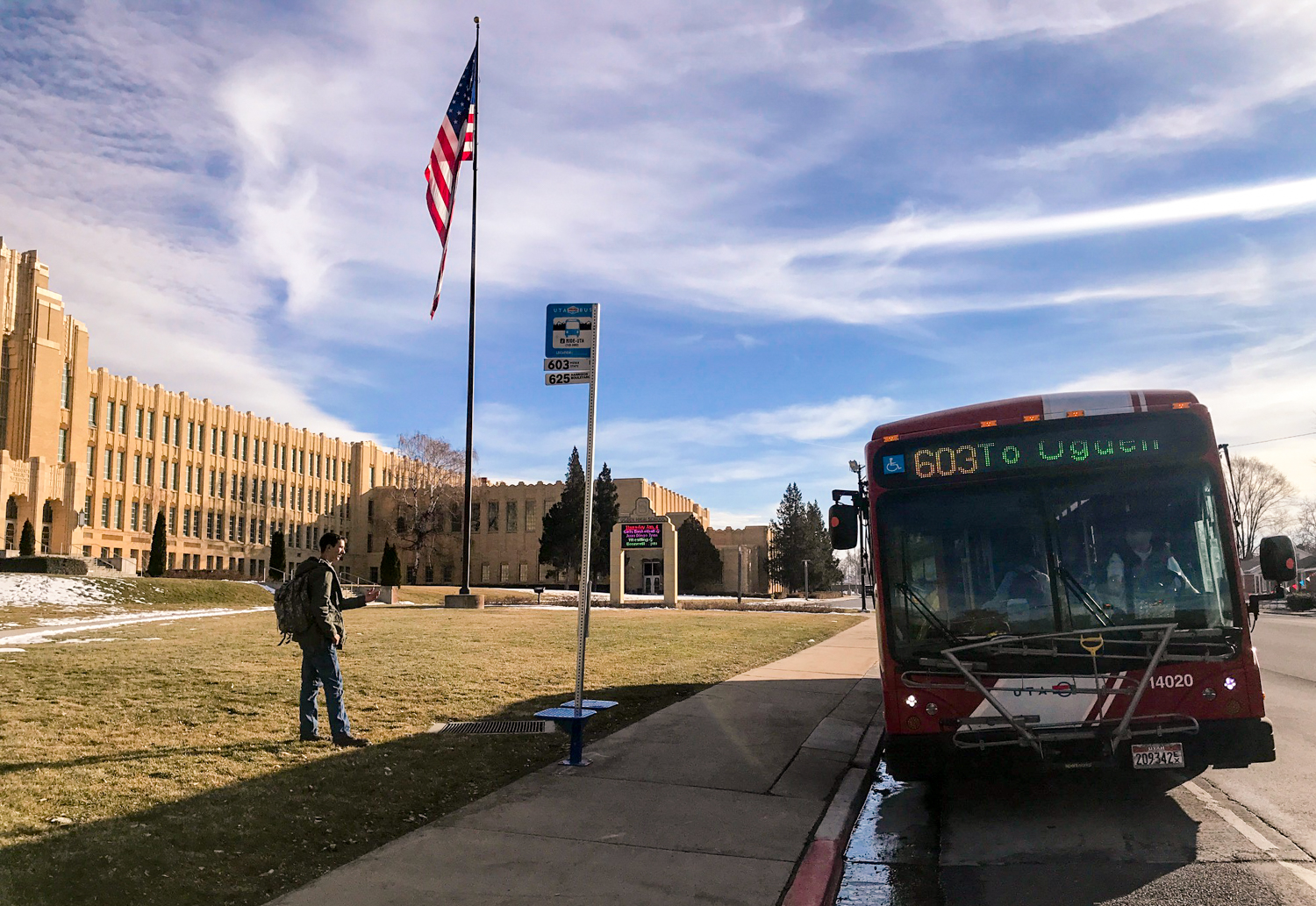Exploring Weber County Bus Route 603
