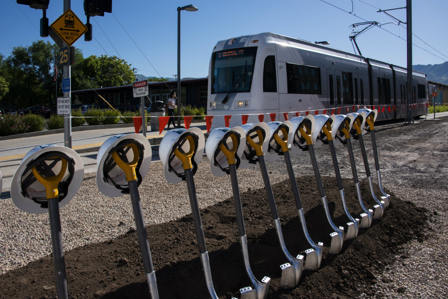 Double tracking Begins on S-Line
