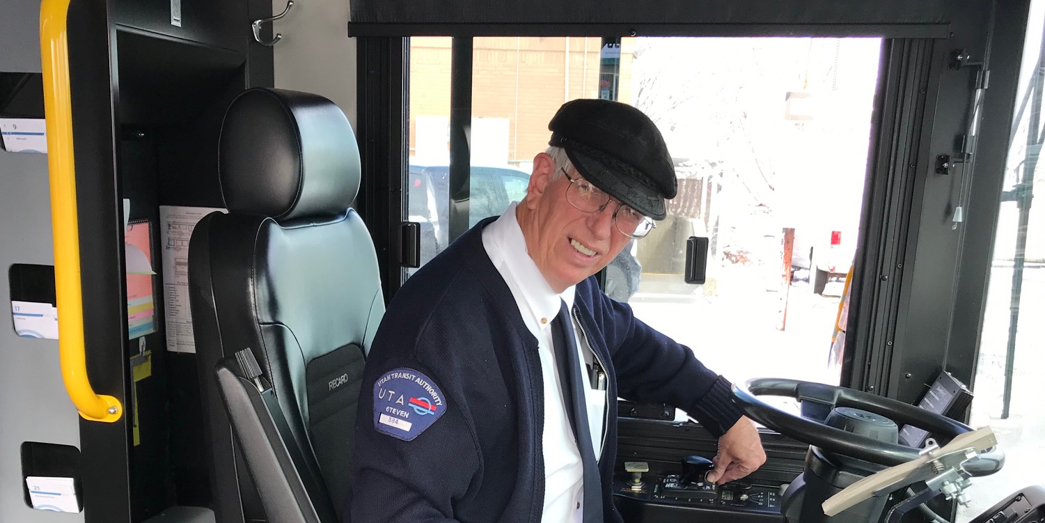 UTA Bus Operator Brings Happiness to His Route