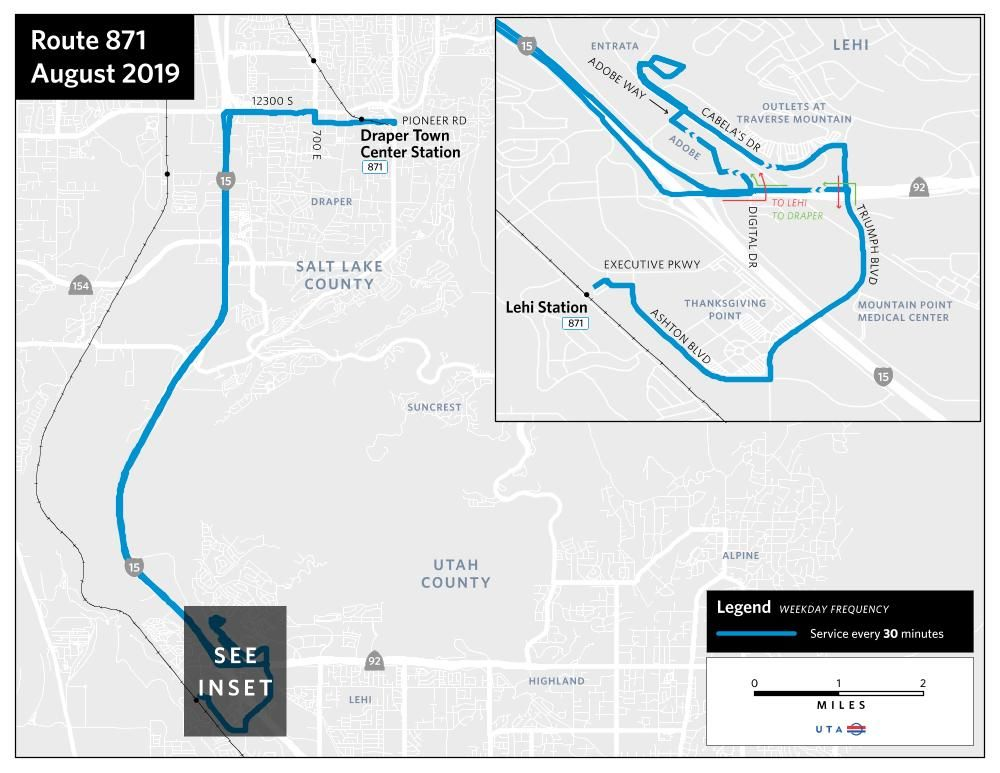 More Connections and Expanded Service Coming to Lehi
